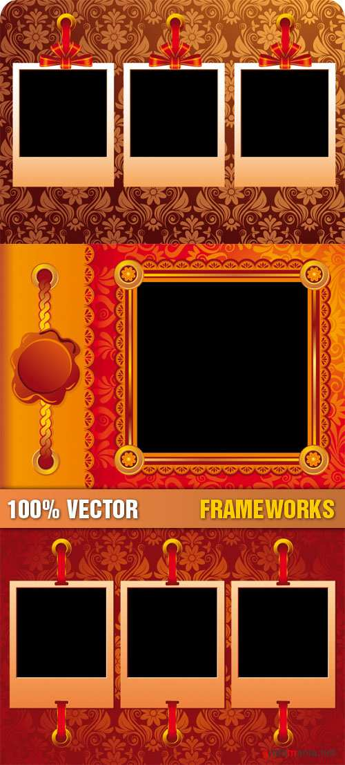 Stock Vector - Frameworks