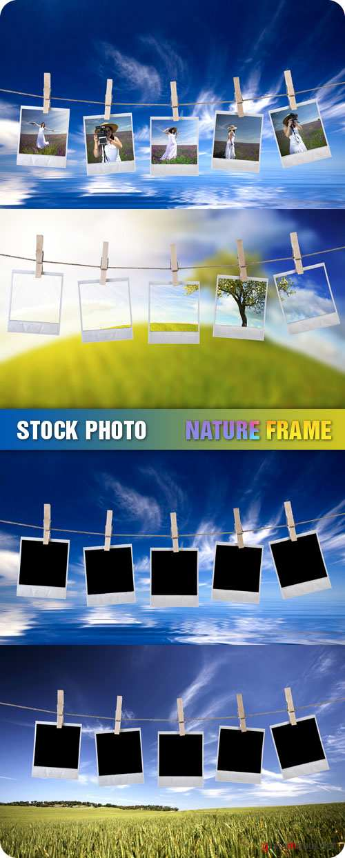 Stock Photo - Nature Frame