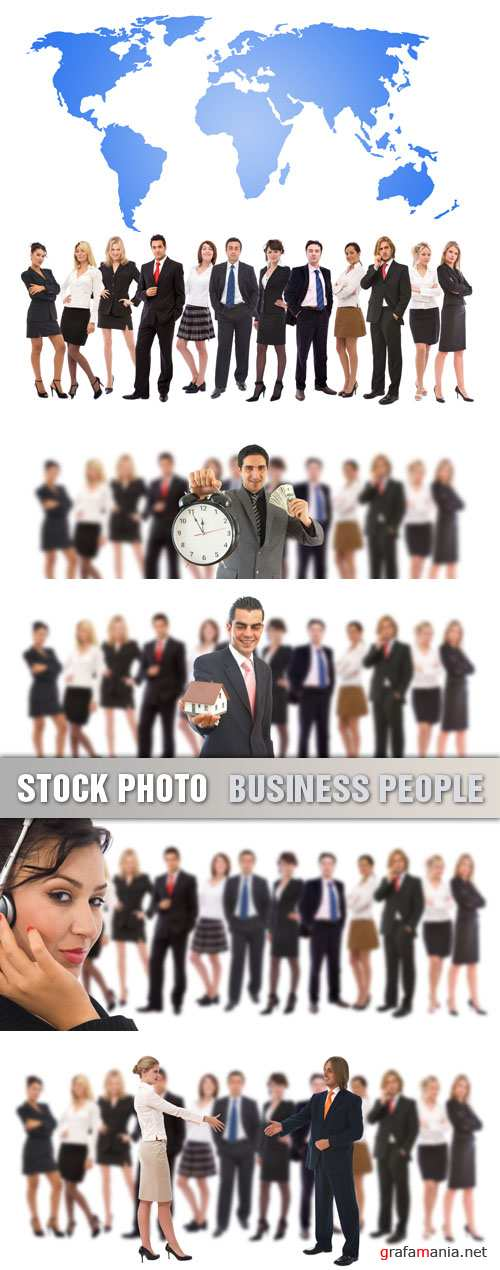 Stock Photo - Business People