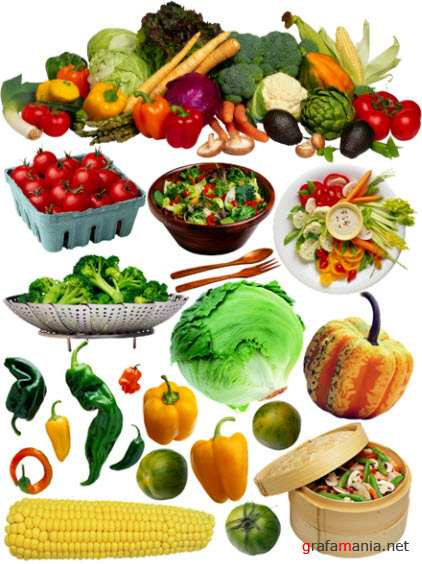 Продукты с рынка - Овощи 2  Products with Market - Vegetables 2