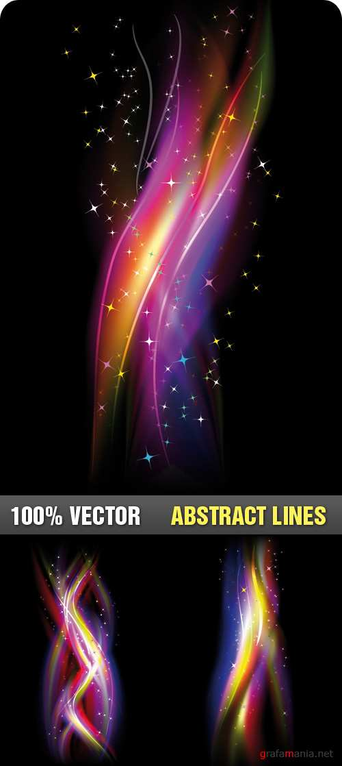 Stock Vector - Abstract Lines
