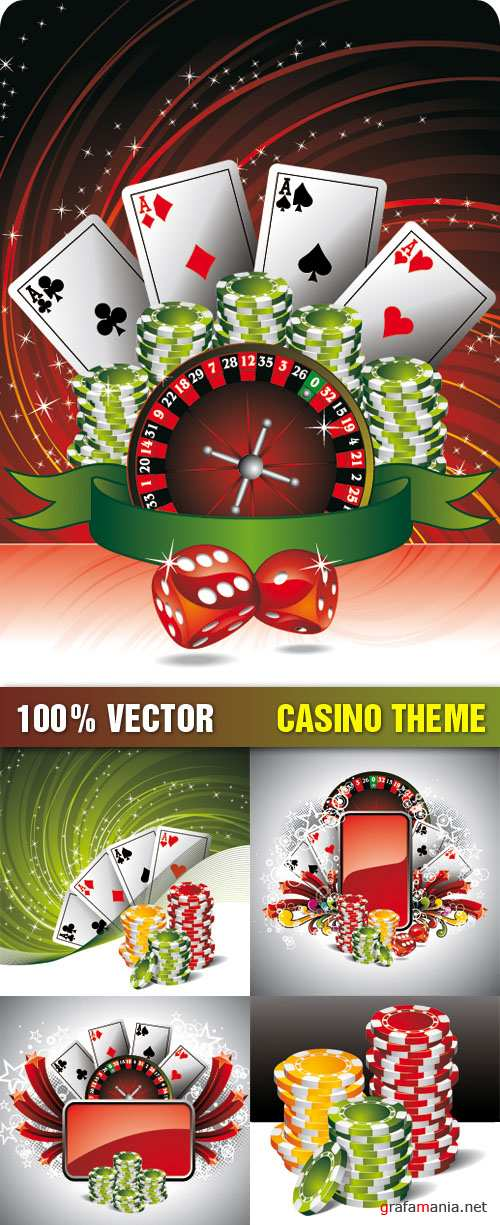 Stock Vector - Casino Theme