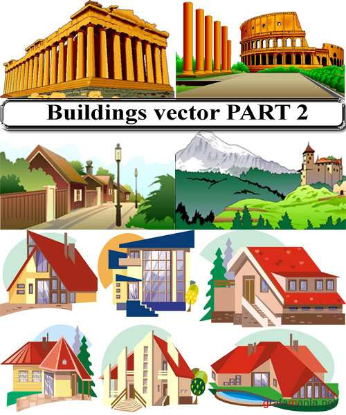 Buildings vector PART2
