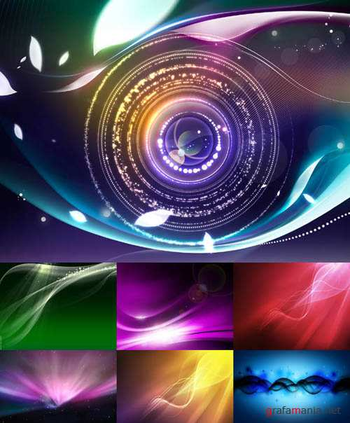 Abstract Colorful Lights HQ Wallpapers