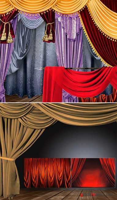 PSD - Curtains