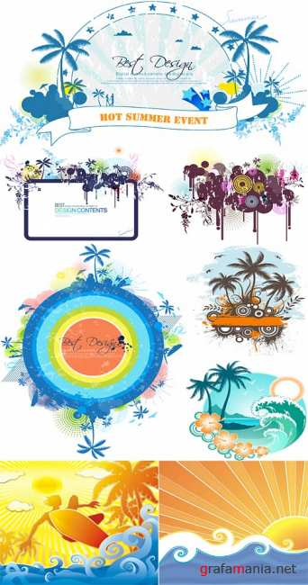 Hot summer vectors