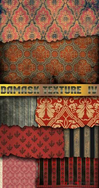 Damask texture pack 4