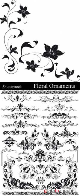 Flower ornaments