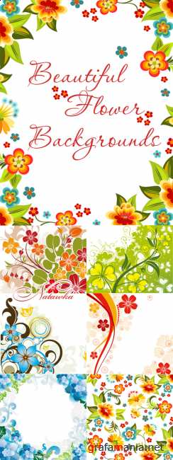Beautiful flower backgrounds