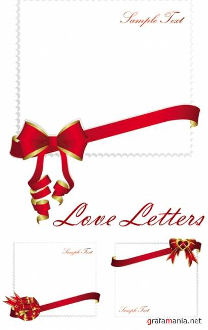 Love Letters Vector