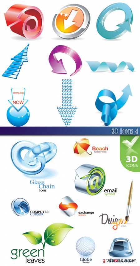 3D Icons 4