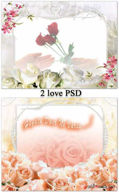 Amazing love PSD
