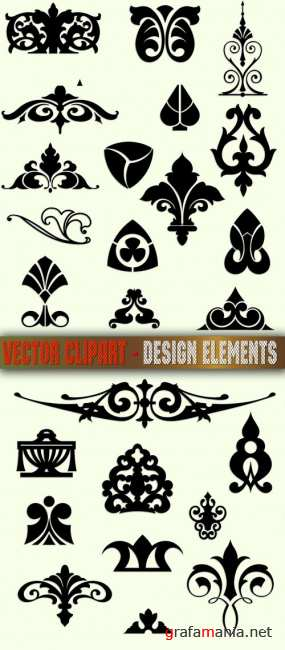 Vector clipart - Design elements