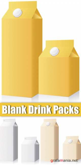 Blank Drink Packs
