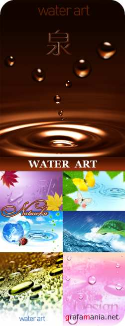 Water art 6 | PSD Templates