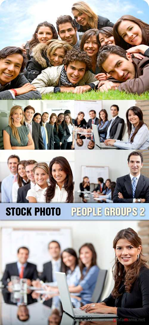 Stock Photo - People Groups 2