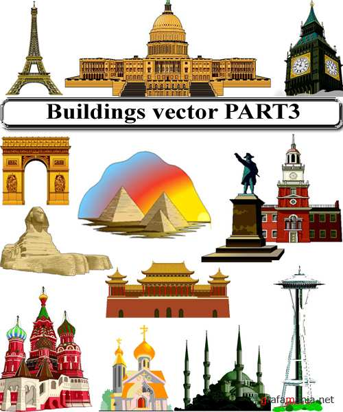 Buildings vector PART3