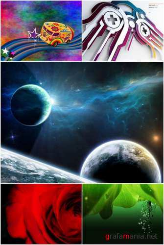 Wallpapers - Diverse Pack #5