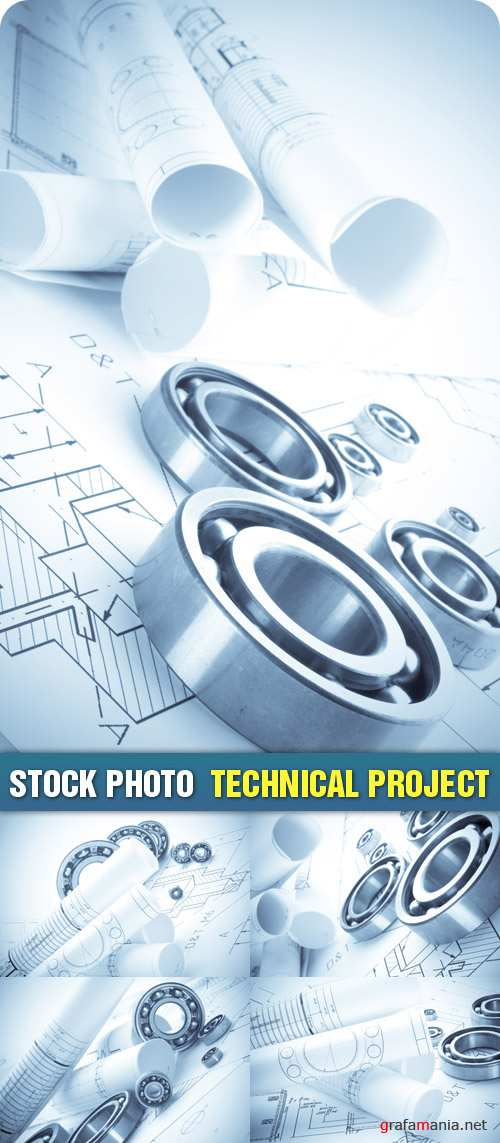Stock Photo - Technical Project