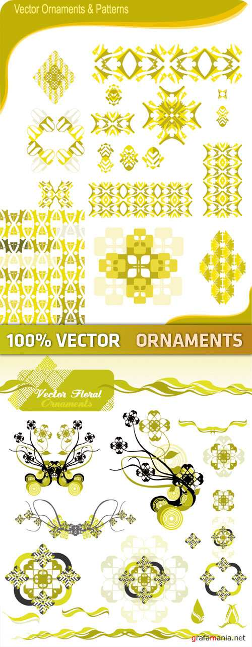 Stock Vector - Ornaments