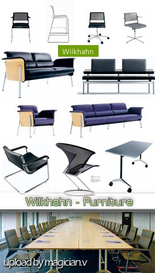 3D models of Wilkhahn Furniture