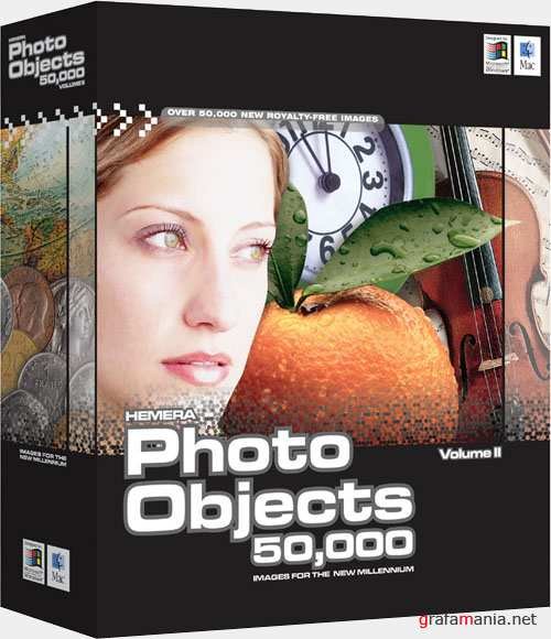 Hemera Photo Objects 50.000 Volume II (DVD)