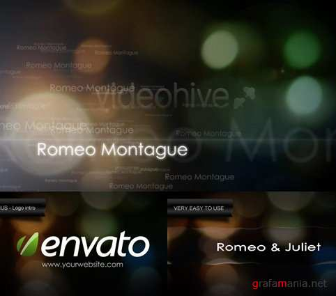 Videohive After Effect Project - Romeo & Juliet