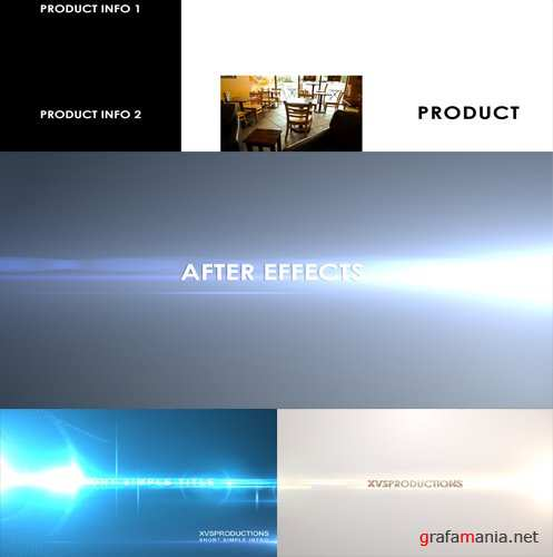 After Effect Project -  4 in 1