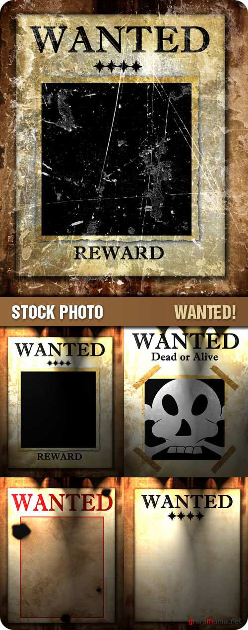 Stock Photo - Wanted