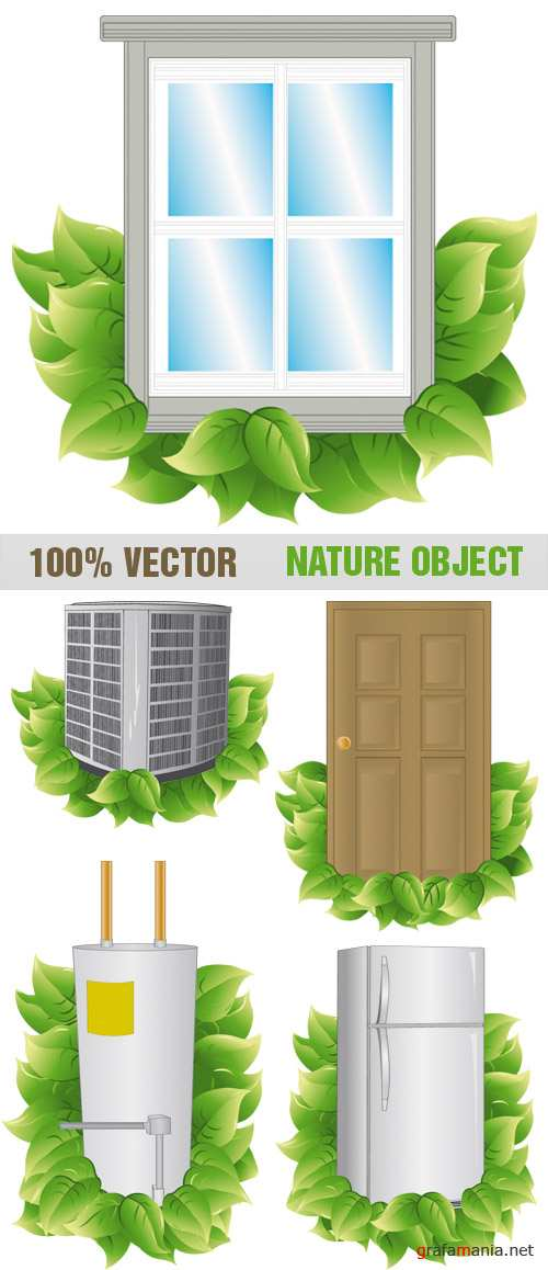 Stock Vector - Nature Object