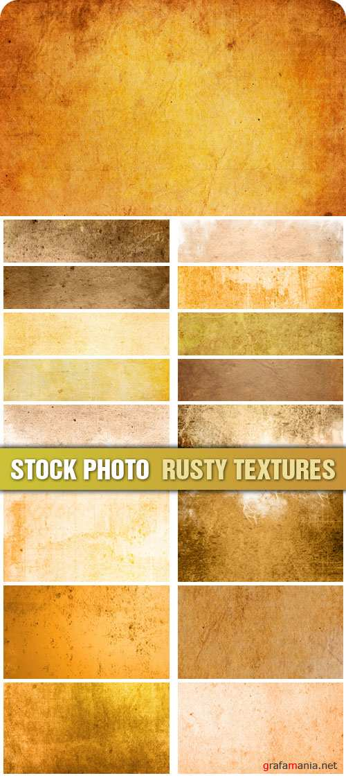 Stock Photo - Rusty Textures