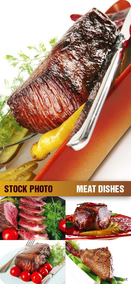 Stock Photo - Meat Dishes