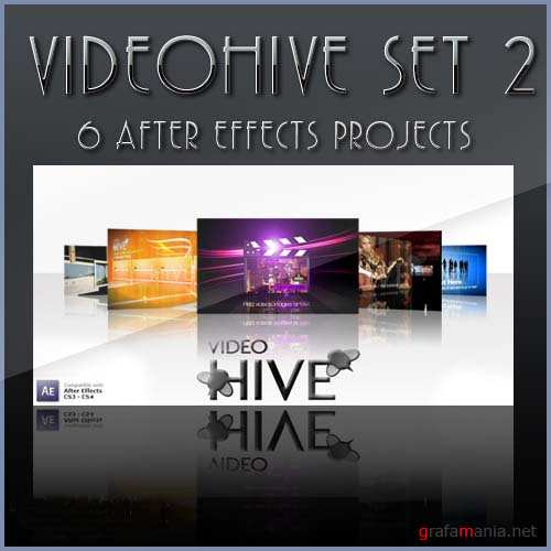 After Effects projects: VideoHive set 2