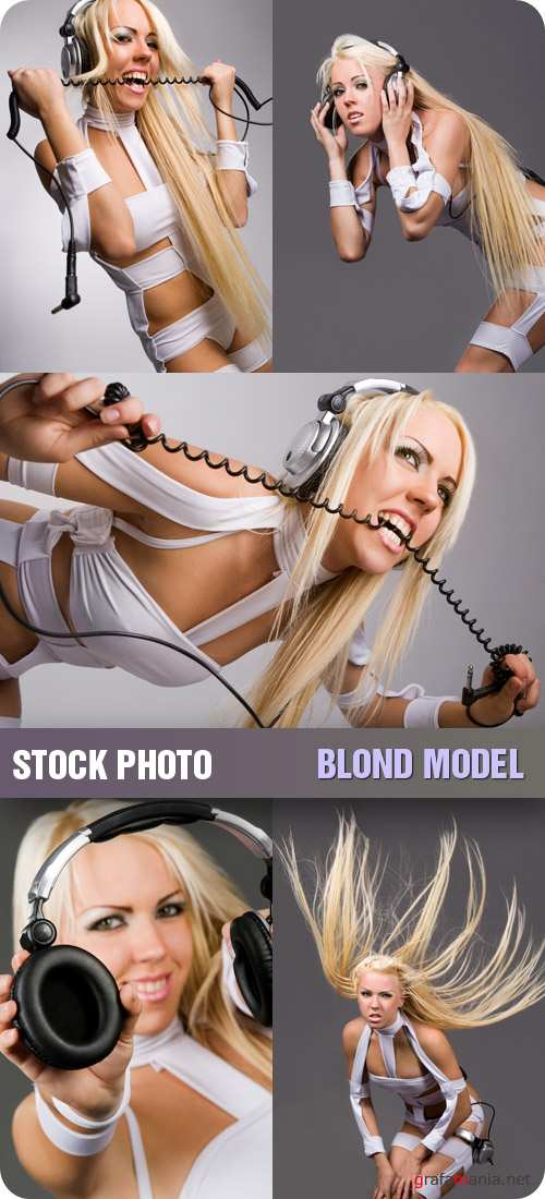 Stock Photo - Blond Model