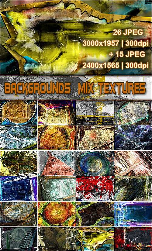 Backgrounds  Mix Textures