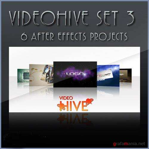 After Effects projects: VideoHive set 3