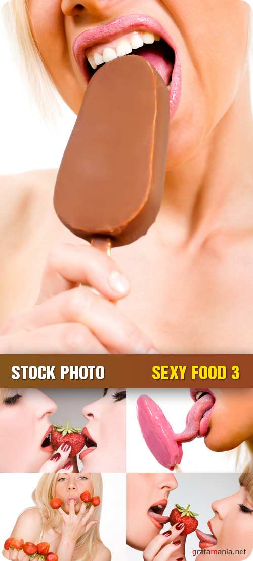 Stock Photo - Sexy Food 3