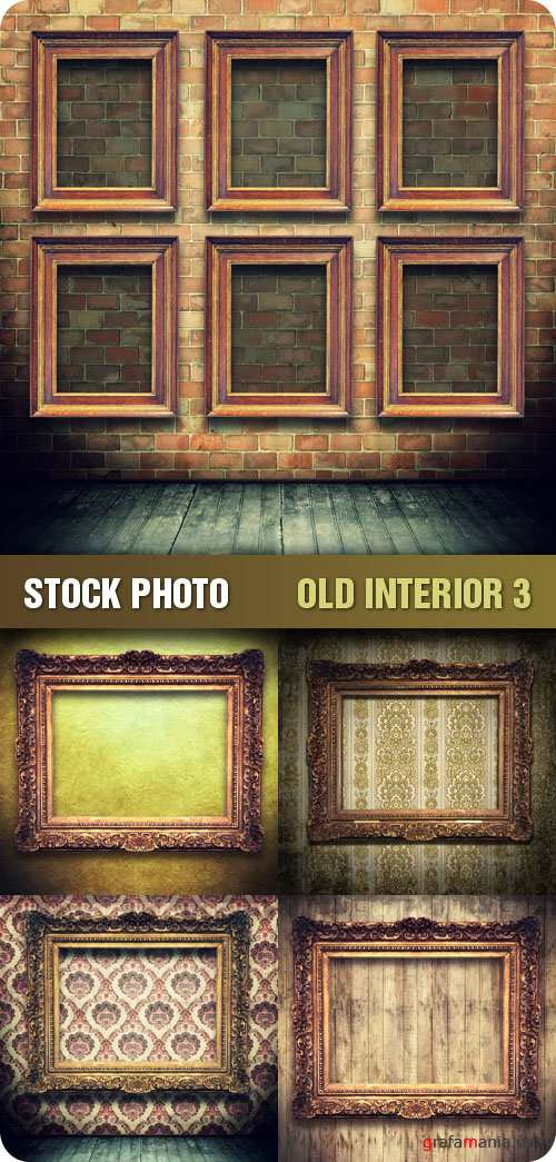 Stock Photo - Old Interior 3
