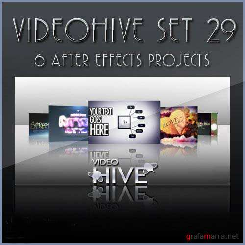 After Effects projects: VideoHive set 29