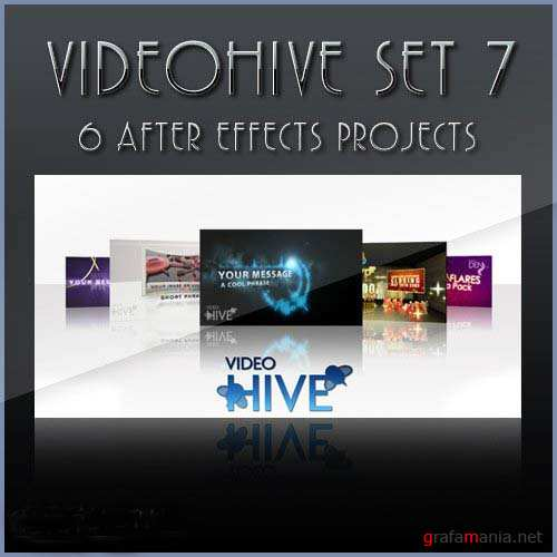 After Effects projects: VideoHive set 7