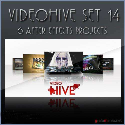 After Effects projects: VideoHive set 14