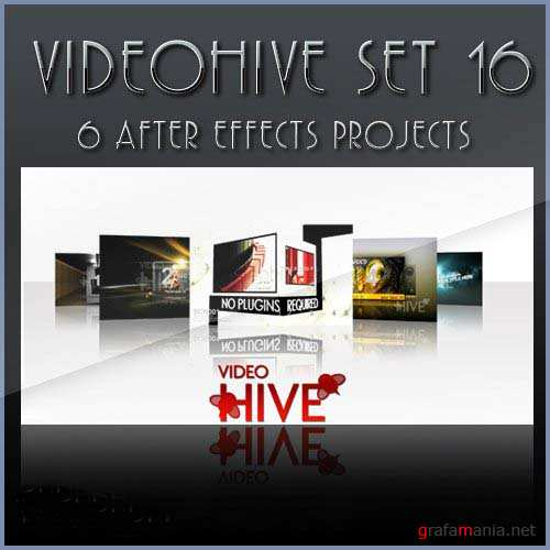 After Effects projects: VideoHive set 16