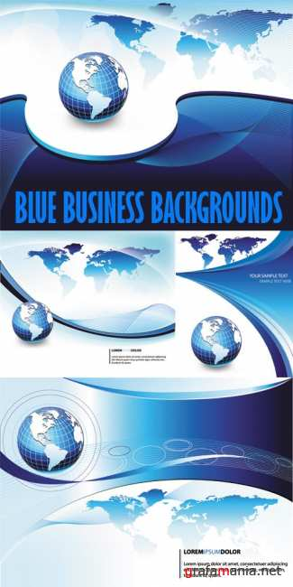 Blue Business Backgrounds