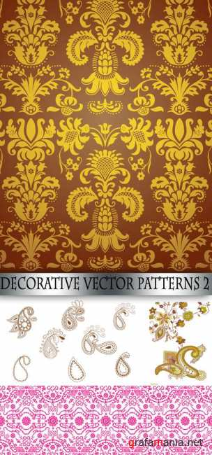 Decorative vector patterns 2