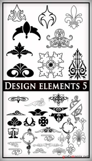 Vector clipart - Design elements 5
