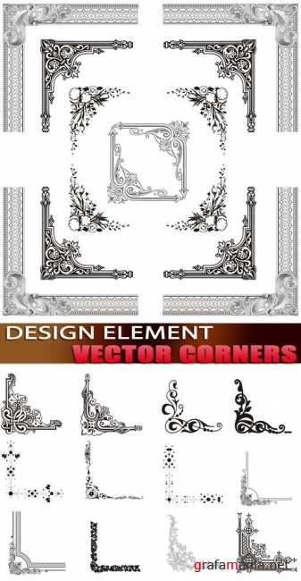 Design element - Vector corners
