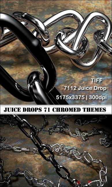 Juice Drops 7112 chromed THEMES