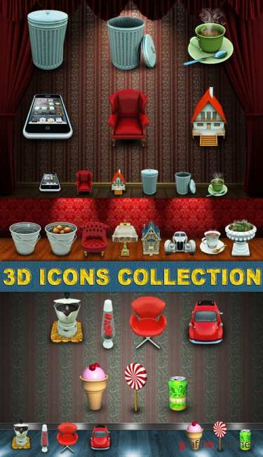 3D Icons collection