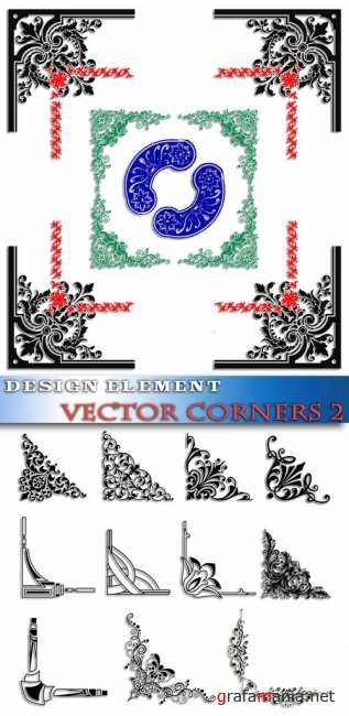 Design element - Vector corners 2