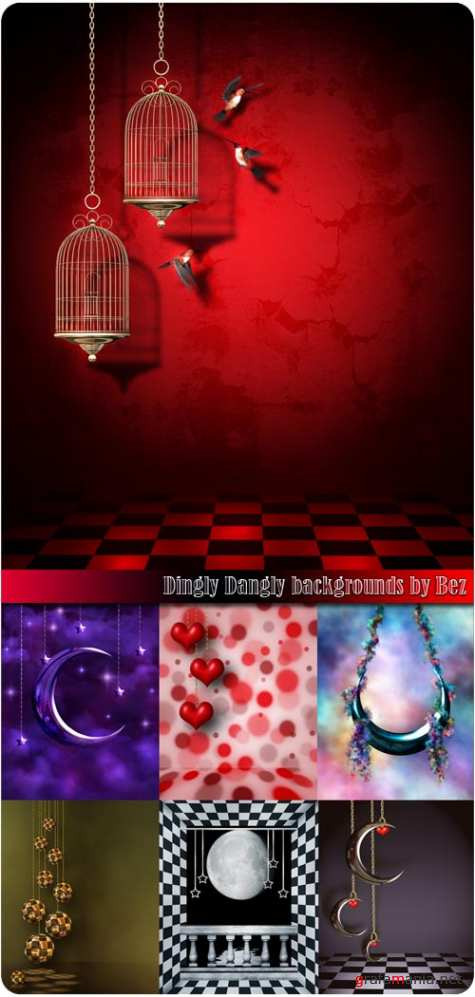 Dingly Dangly backgrounds